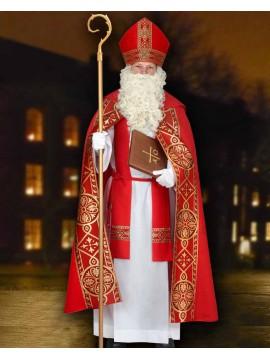 Manteau évêque rouge