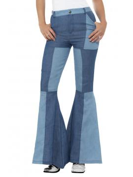 Pantalon évasé taille L