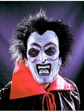 Maske Vampir mit Plüschhaar