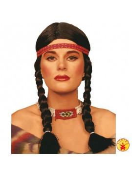 Perücke Indianerin
