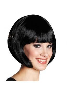Perruque Trixy, cheveux noirs