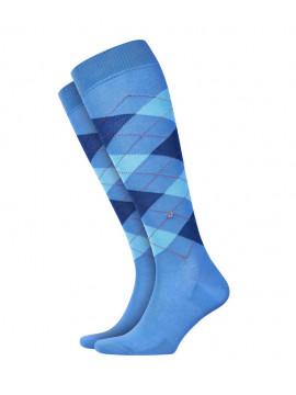 Chaussettes bleu cotton