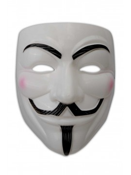 Halblarve Guy Fawkes Anonymous