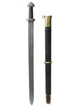 Épée Viking en acier de Damas