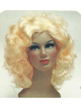 Perruque Marlène, cheveux noirs