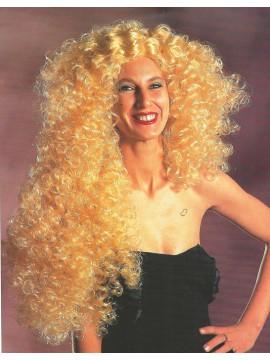 Perruque Pamela, cheveux noirs