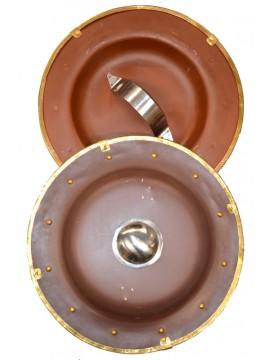 Römerschild rund