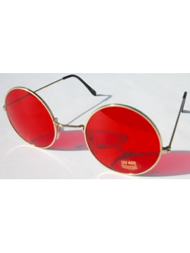 Brille 1970 rot