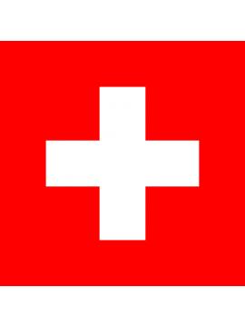 Schweizerfahne 100x100cm gedruckt