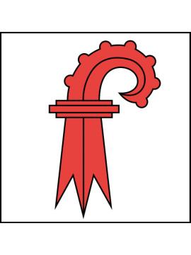 Baselland-Fahne 100x100cm gedruckt