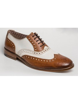 Chaussures gatsby 44 marrons