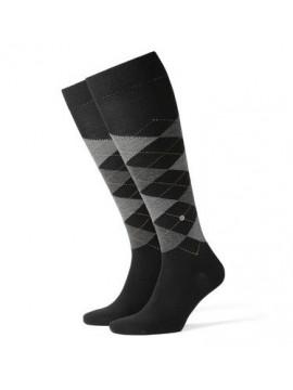 Chaussettes noir laine
