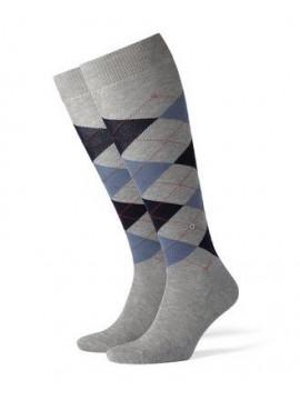 Chaussettes gris/bleu
