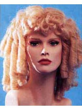 Perücke Zapfenlocken blond